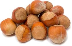Hazelnut (Filberts) dengan Kulit 1 lb (454 g) Kantung