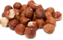 Hazelnuts  (Filberts) Raw Whole (No Shell) 1 lb Bag