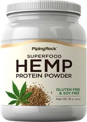 Hampaproteinpulver 16 oz (454 g) Flaska