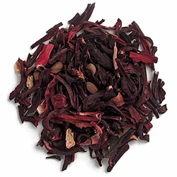 Organic Hibiscus Flowers Cut & Sifted 1 lb (454 g) x 2 Bags