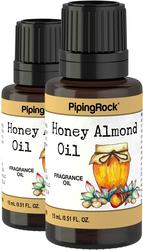 Olio con fragranza di miele e mandorle 1/2 fl oz (15 mL) Flacone contagocce