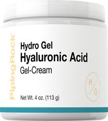 Crema de gel con ácido hialurónico 4 oz (113 g) Tarro