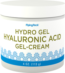Gelkräm med hyaluronsyra 4 oz (113 g) Burk