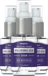 Sérum à l'acide hyaluronique 1 fl oz (30 mL) Bouteille à pompe