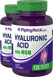 Acide hyaluronique avec MSM 120 Gélules à libération rapide
