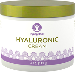 "Hyaluronic Acid Cream 4 oz (113 g) Jar"" title=""Hyaluronic Acid Cream 4 oz (113 g) Jar"