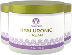 Crema con ácido hialurónico 4 oz (113 g) Tarro