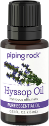 100% Pure Hyssop Essential Oil 1/2 oz (15 ml) Benefits & Uses