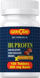 布洛芬  200 mg 100 片
