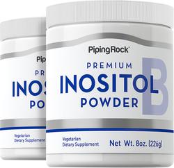 Inositol Pure Powder 8 oz (226 g) Powder x 2 Bottles