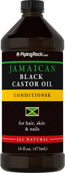 Jamaican Black Castor-olie 16 fl oz (473 mL) Fles