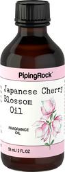 Olio profumato al bocciolo di ciliegio giapponese (versione per bagno e corpo) 2 fl oz (59 mL) Bottiglia