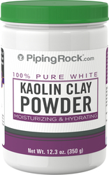Buy Kaolin White Clay Powder 12.3 oz (350 Grams) Bottle