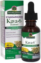 Kava-6 Standardized Extract Liquid Alcohol Free, 1 fl oz