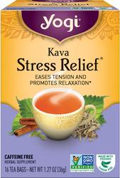 Kava Stress Relief Tea, 16 Tea Bags