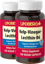 Ламинария, уксус, лецитин, витамин B6 100 Вегетарианские Капсулы