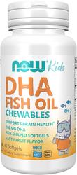 Pastillas masticables para niños DHA  60 Perlas