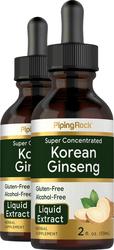 Super Concentrated Korean Ginseng Alcohol Free, 2 fl oz (59 mL) Dropper Bottle