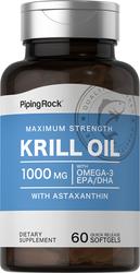 Krill Oil 1000 mg, 60 Softgels