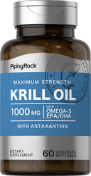 Huile de Krill 60 Capsules molles à libération rapide