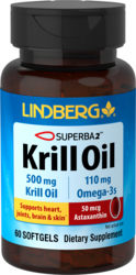 Krill Oil 500 mg, 60 Softgels