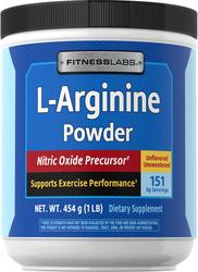 L-Arginin Bubuk 1 lb (454 g) Botol