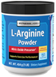 L-Arginina Polvo 1 lb (454 g) Botella/Frasco