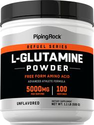 Poudre de L-Glutamine 1.1 lb (500 g) Bouteille