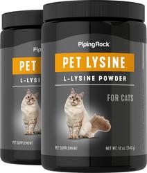 L-Lysine Powder For Cats 12 oz x 2 Bottles