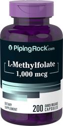 L-メチルフォレート 1000mcg 錠剤 200 速放性カプセル