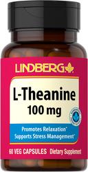 L-Theanine 100 mg, 120 Veg Caps