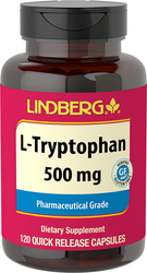 L-Tryptophan, 500 mg, 120 Quick Release Capsules
