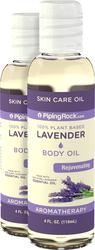 Lavender Body Oil, 4 fl oz (118 mL) Bottle