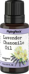 Lavendel-kamille-duftolje 1/2 fl oz (15 mL) Pipetteflaske