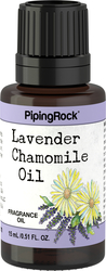 Lavendel kamille geurolie 1/2 fl oz (15 mL) Druppelfles