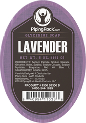 Lavendel glycerinezeep 5 oz (141 g) Re(e)p(en)