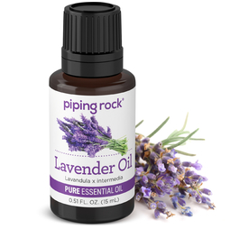 Buy Essential Oil of Lavender 1/2 oz (15 ml) Dropper Bottle
