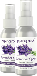 Lavender Spray 2.4 fl oz (71 mL) 2 Bottles
