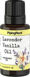 Olio con fragranza di lavanda e vaniglia (versione bagno e cura corpo) 1/2 fl oz (15 mL) Flacone contagocce
