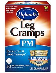 Leg Cramp PM - Formule homéopathique pour soulager les crampes nocturnes 50 Comprimés