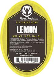 Limoen glycerine zeep 5 oz (141 g) Bar