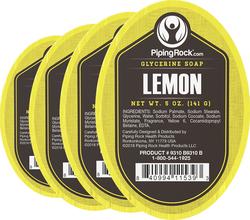 Zitrone-Glyzerinseife 5 oz (141 g) Riegel