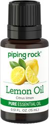 Óleo essencial 100% puro de limão 1/2 fl oz (15 mL) Frasco conta-gotas