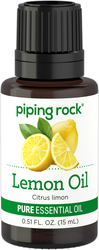 Lemon Minyak Pati Tulen 1/2 fl oz (15 mL) Botol Penitis