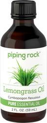 Pure Lemongrass Essential Oil 2 fl oz (59 ml) Dropper Bottle