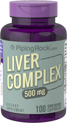Buy Liver Complex 500 mg 100 Capsules