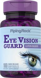 Lutein-Heidelbeer-Augenschutz + Zeaxanthin 100 Softgele mit schneller Freisetzung