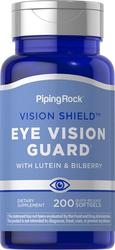 Lutein-Heidelbeer-Augenschutz + Zeaxanthin 200 Softgele mit schneller Freisetzung