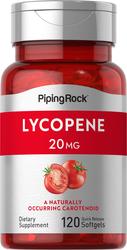 Lycopène 120 Capsules molles à libération rapide
