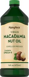 Aceite de nuez de macadamia 16 fl oz (473 mL) Botella/Frasco